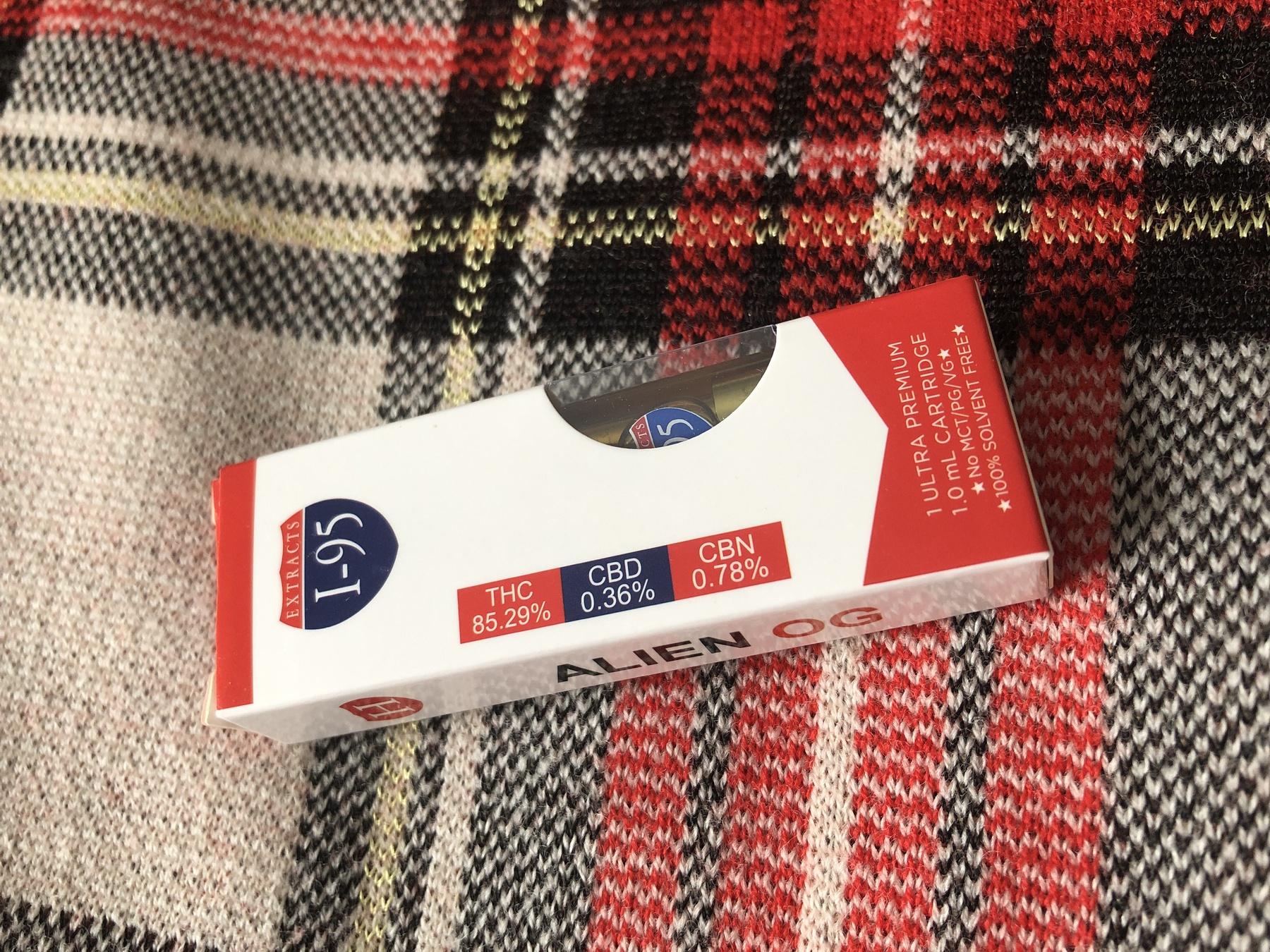 Alien OG 1.0 Cartridge (I-95 Brand) Product image