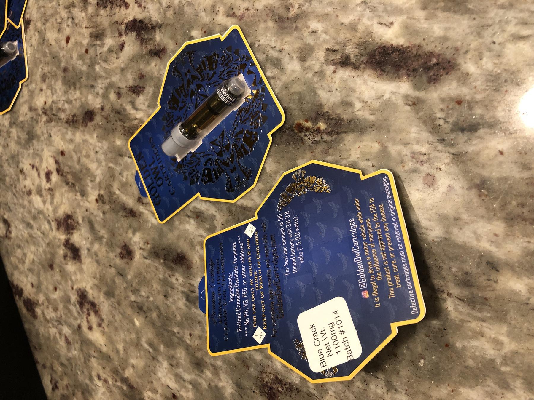 Blue Crack 1.0 Cartridge (Golden Owl Brand) Product image