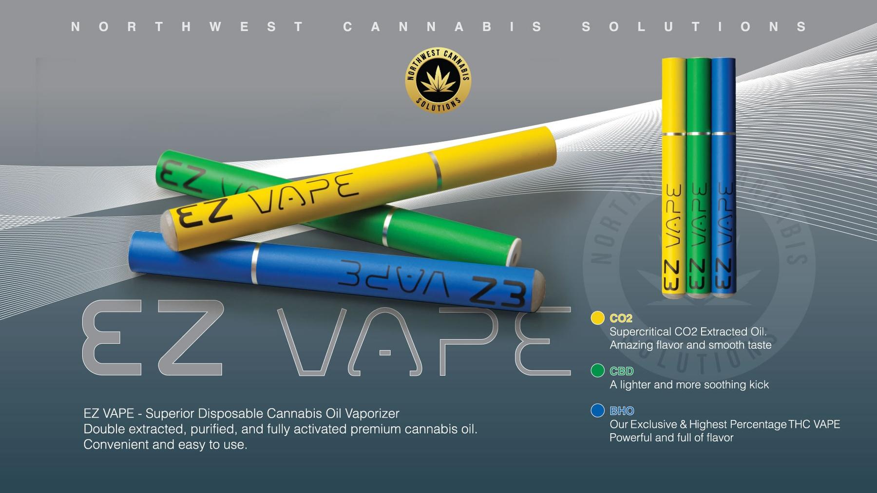EZ Vape BHO Sunset Sherbet Product image