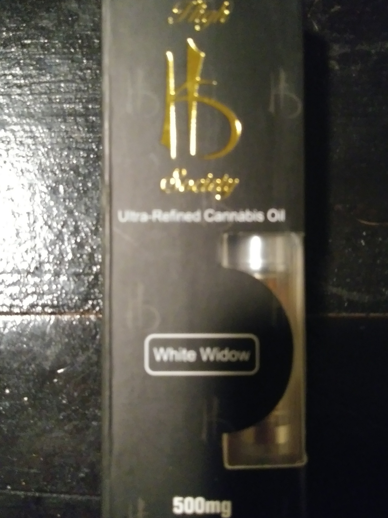 High Society White Widow Cartridge (500mg)