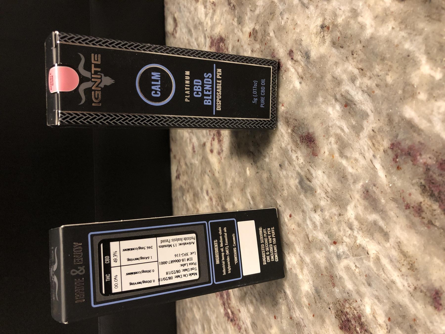 Ignite Premium CBD Disposable Pen - Bubble Gum Product image
