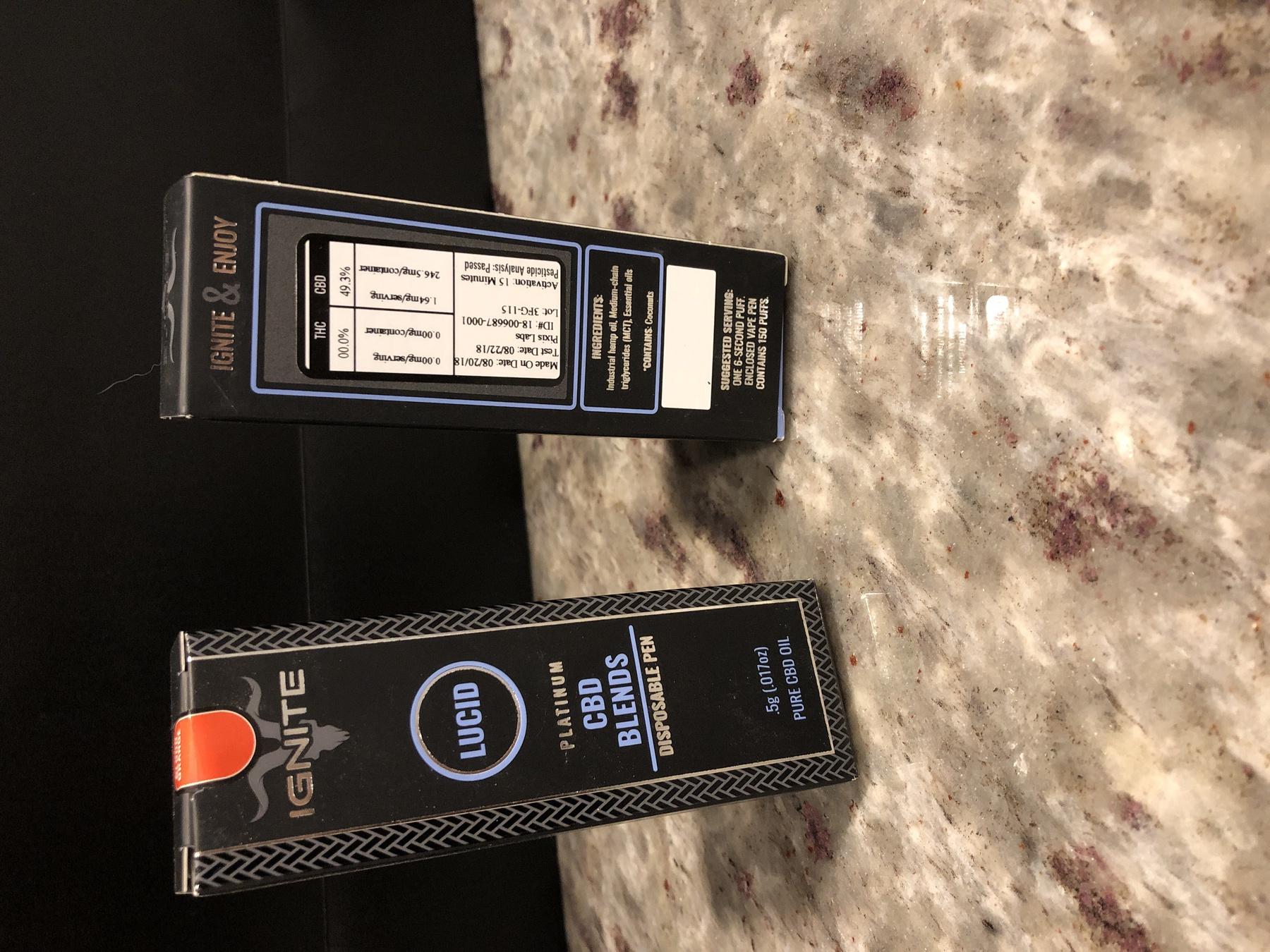 Ignite Premium CBD Disposable Pen - Blood Orange Product image