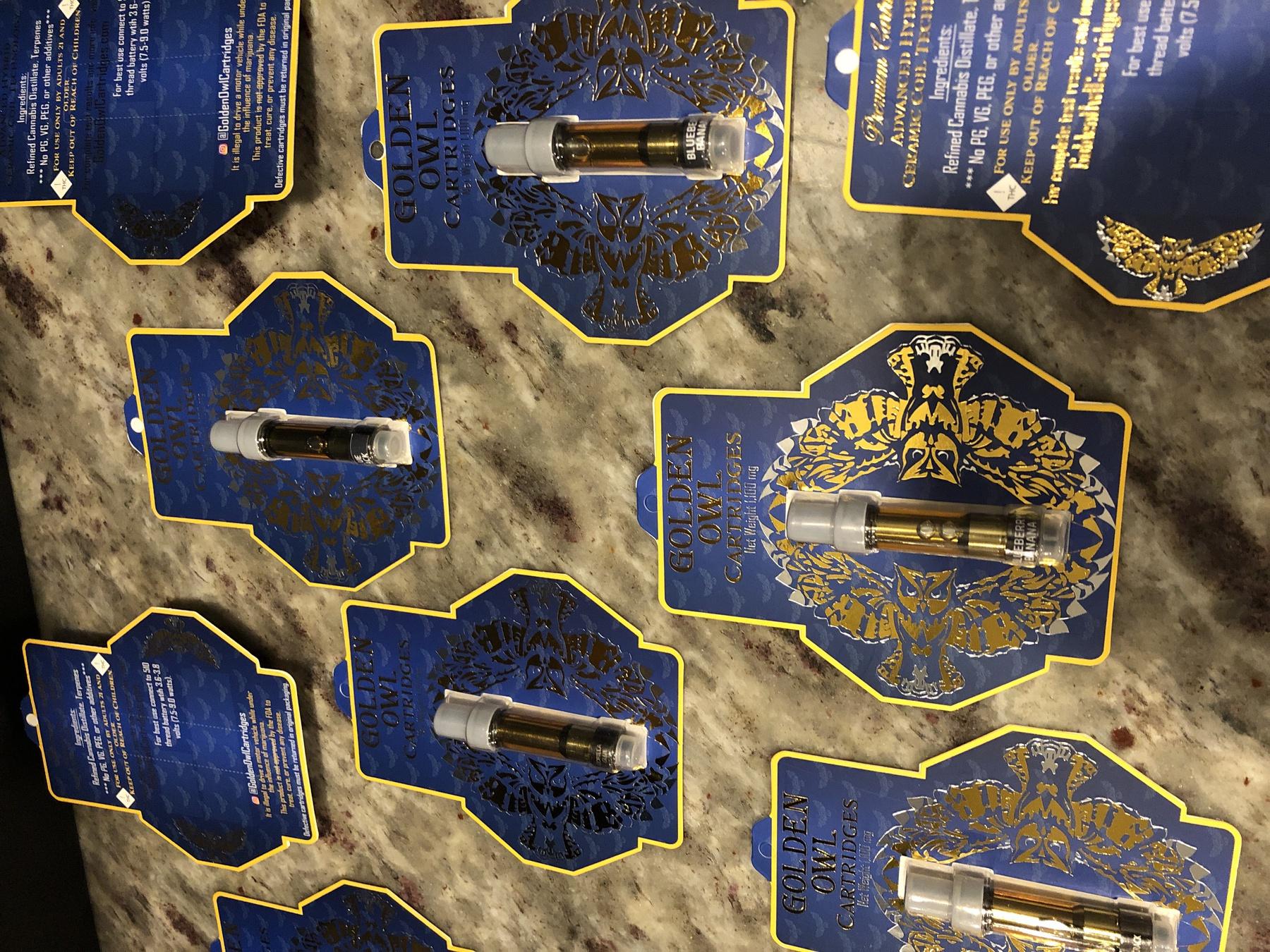 San Fernando Valley OG Kush 1.0 Cartridge (Golden Owl Brand) Product image