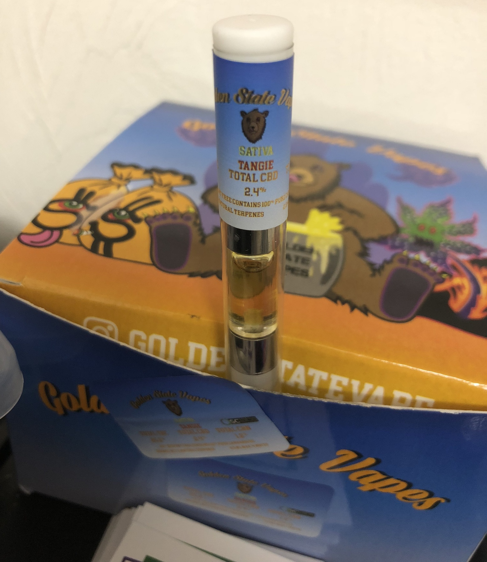Tangie Oil Cartridge (sativa) Product image