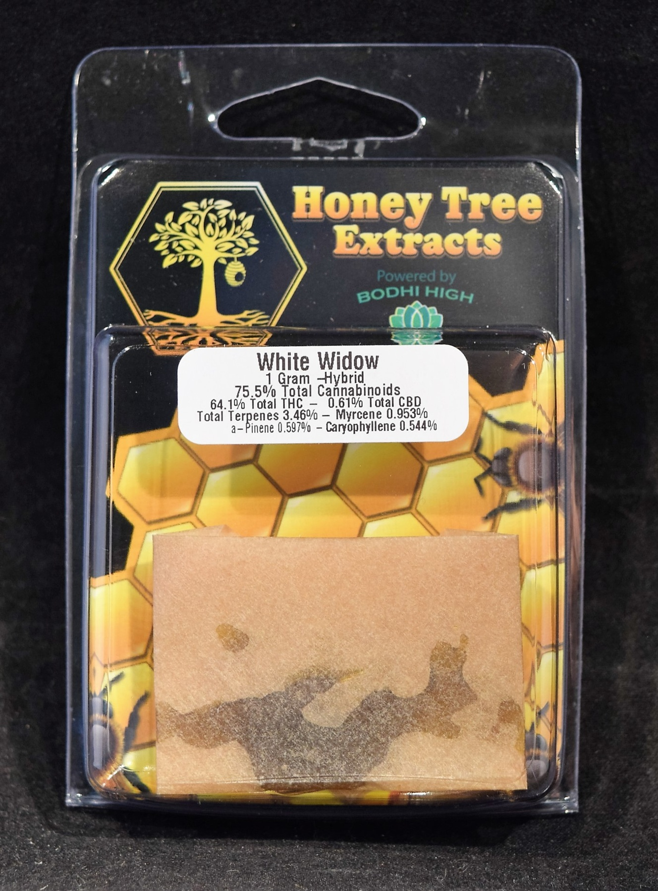 Marijuana Concentrate | White Russian Shatter- Honey Tree | Ilwaco
