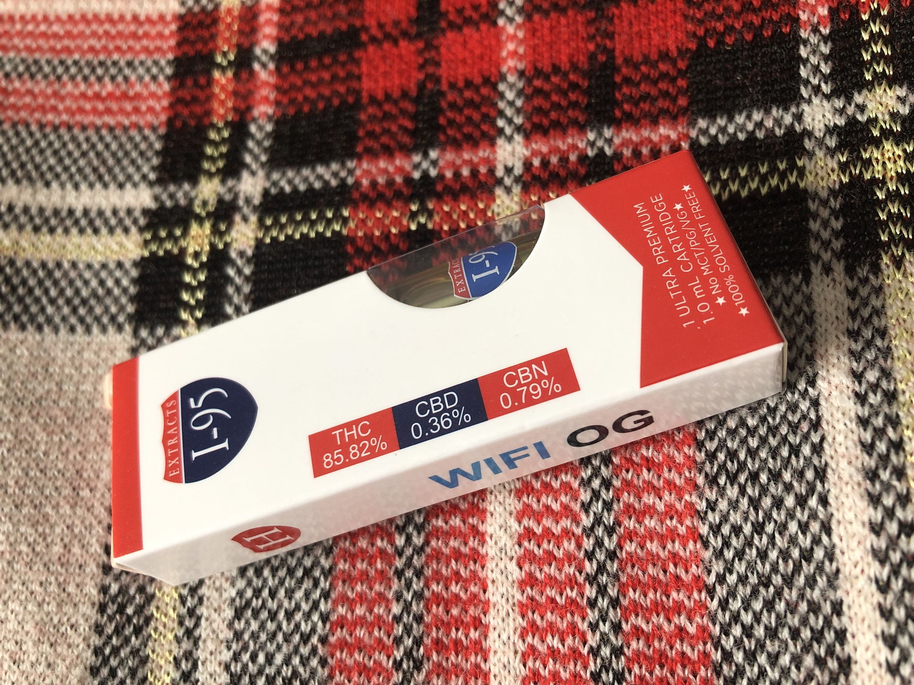 Wifi OG 1.0 Cartridge (I-95 Brand) Product image