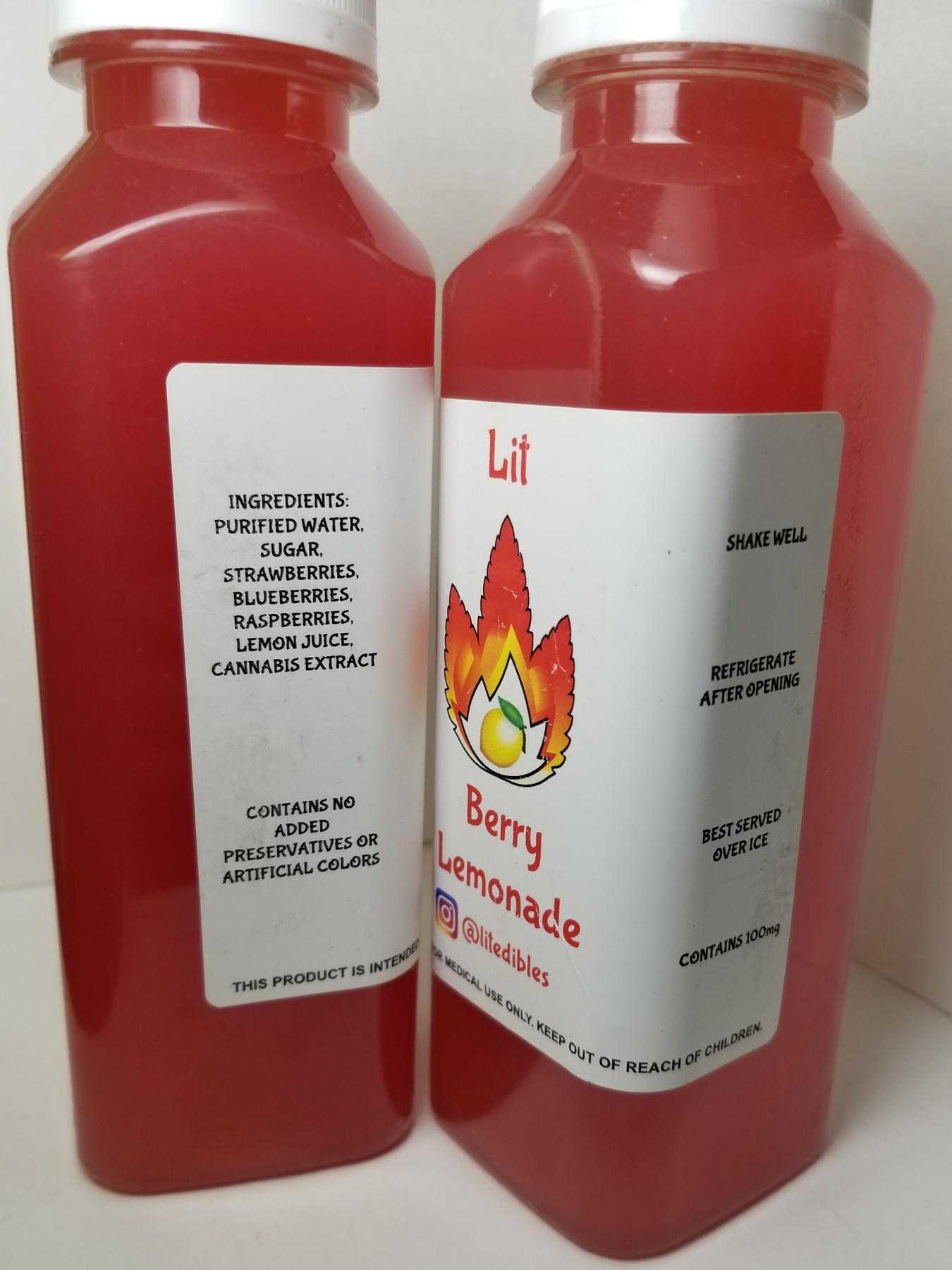 100mg LIT Lemonade- Berry Product image