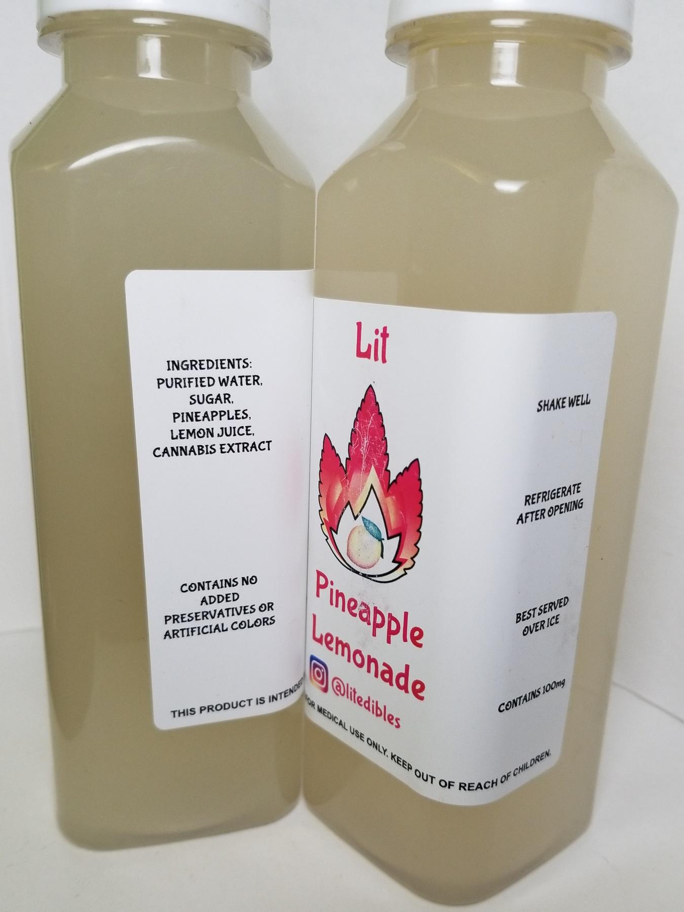 100mg LIT Lemonade- Pineapple  Product image