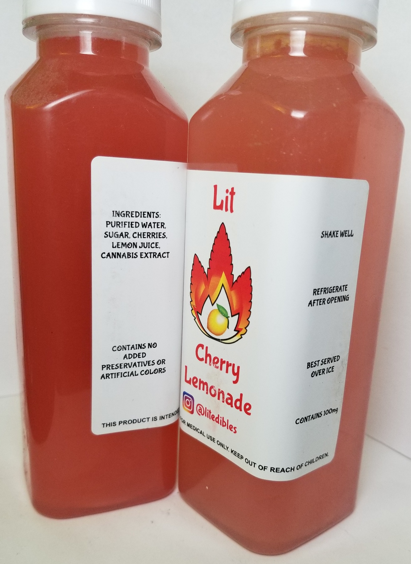 100mg LIT Lemonade- Cherry Product image