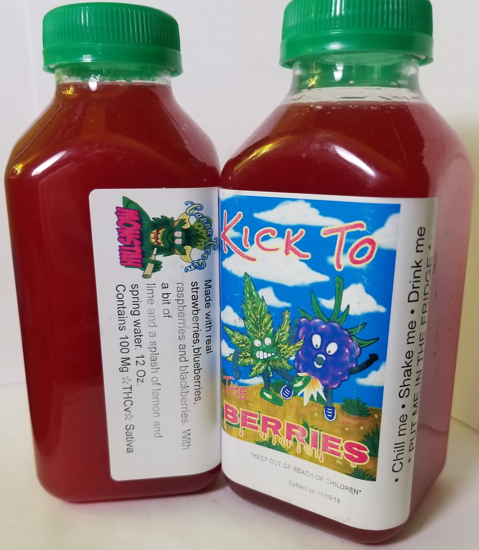 100mg Monstah Lemonade- Berries  Product image