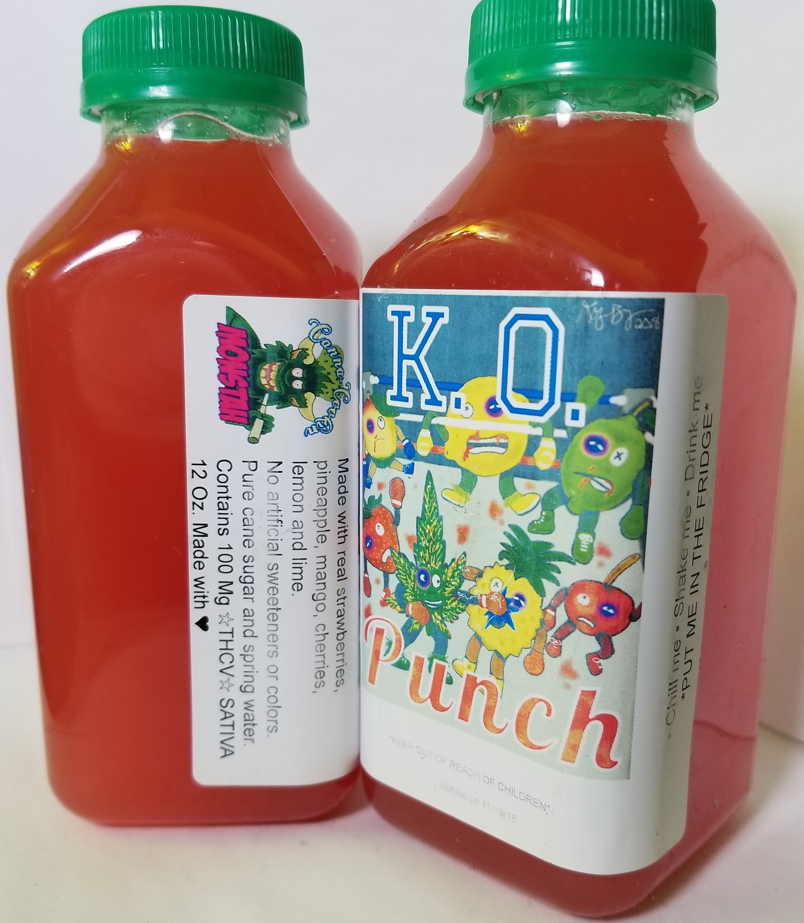 100mg Monstah Juice- Fruit Punch Product image