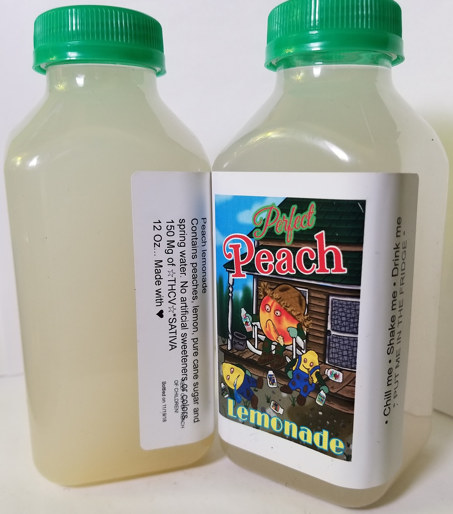 150mg Monstah Lemonade- Peach Product image