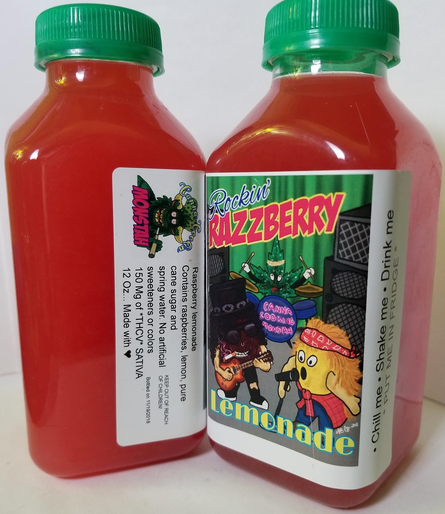 150mg Monstah Lemonade- Razzberry  Product image