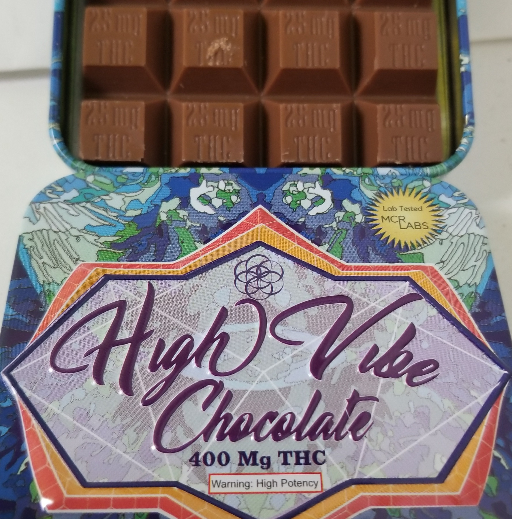 400mg High Vibes Chocolate Product image