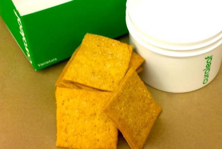 Curaleaf T10 Himalayan Sea Salt Cracker - 10 pack Product image