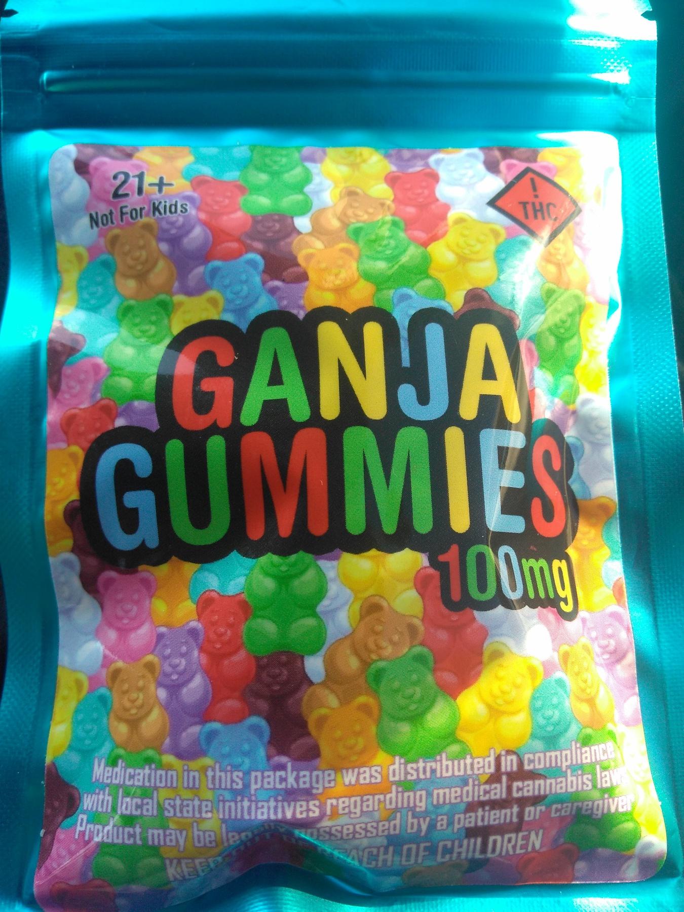 Ganja Gummies 100MG Product image
