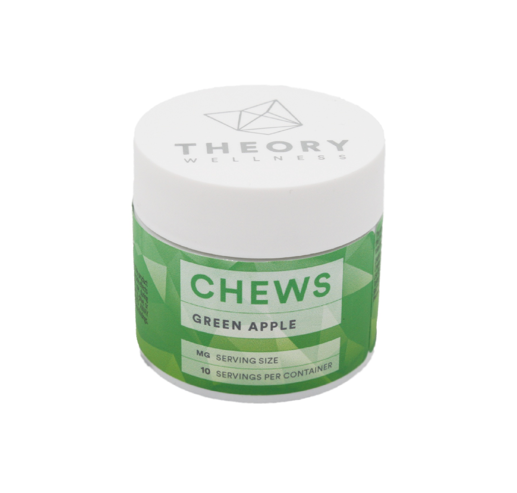 Green Apple Chews: 1:1 (10 pack) Product image