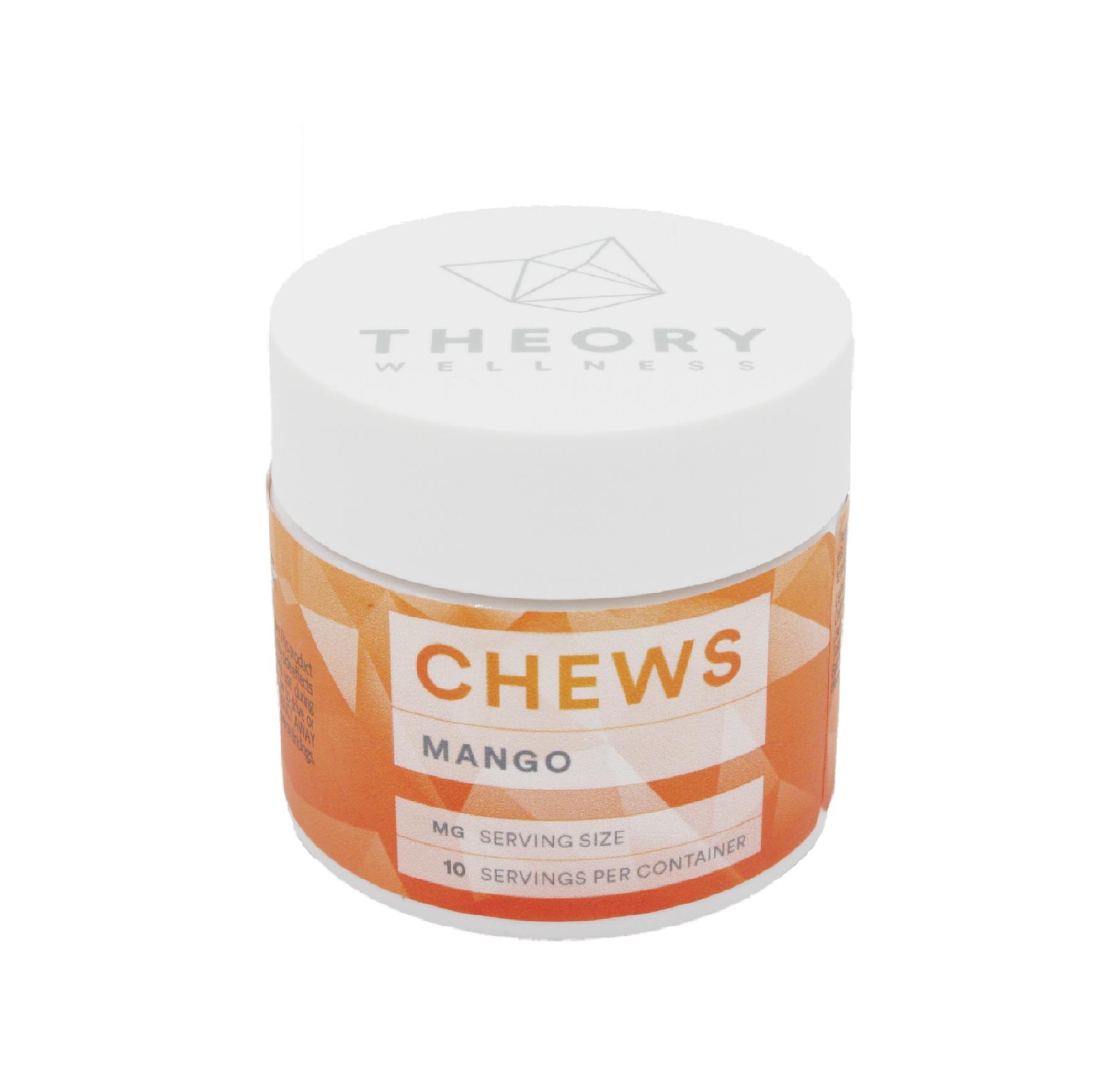 Gummy Chews: Mango THC (10-Pack) Product image