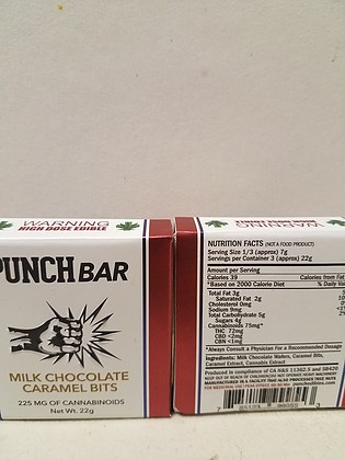 Punch Bar Caramel Chocolate Product image