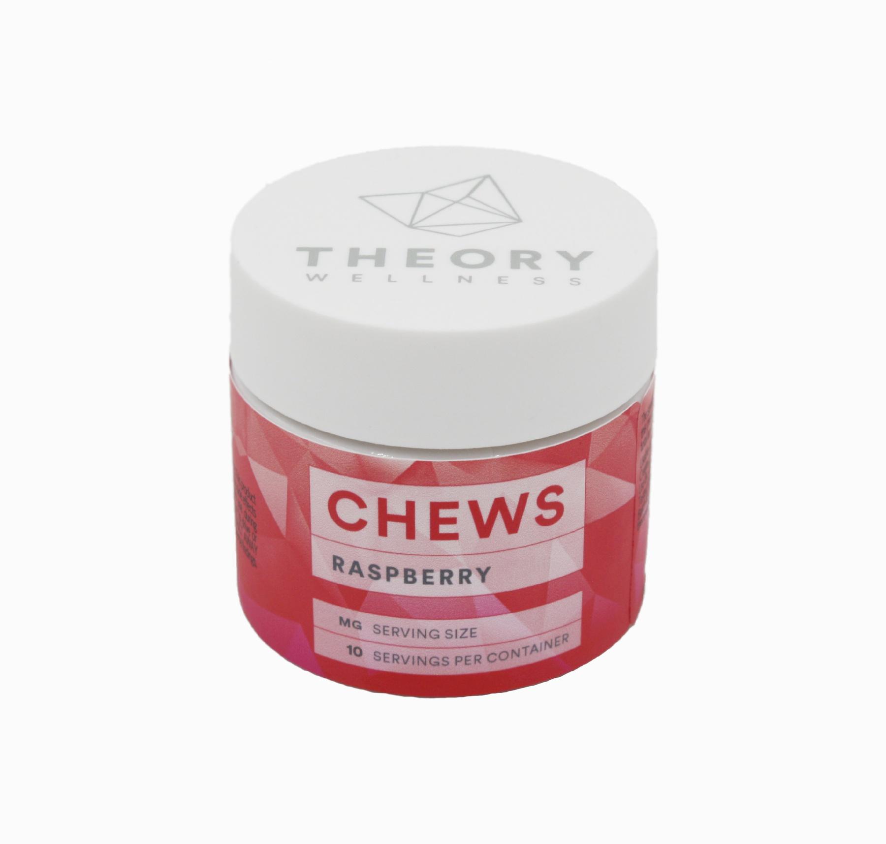 Raspberry Chews: CBD (10 pack) Product image