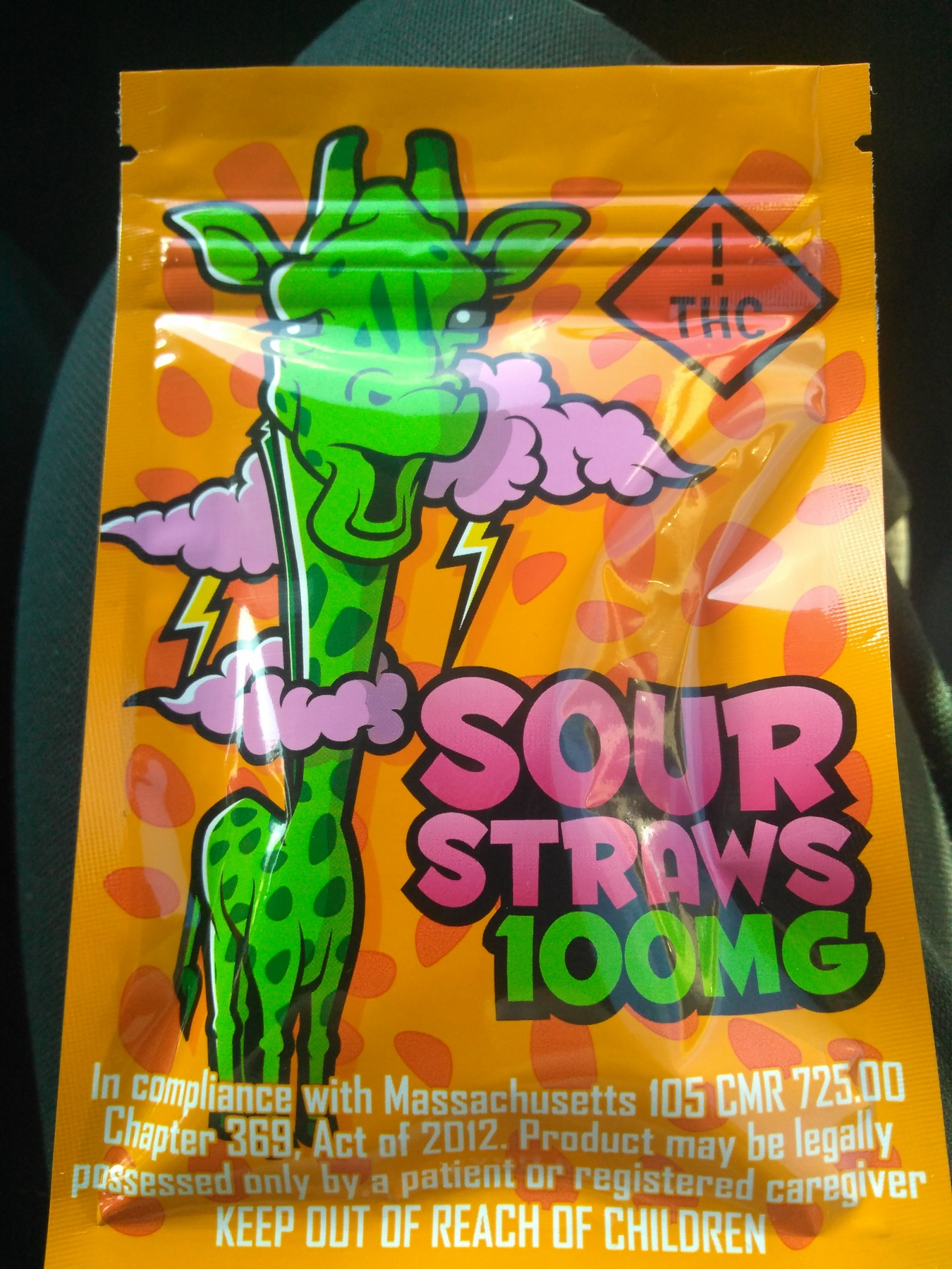Sour Straws 100MG Product image