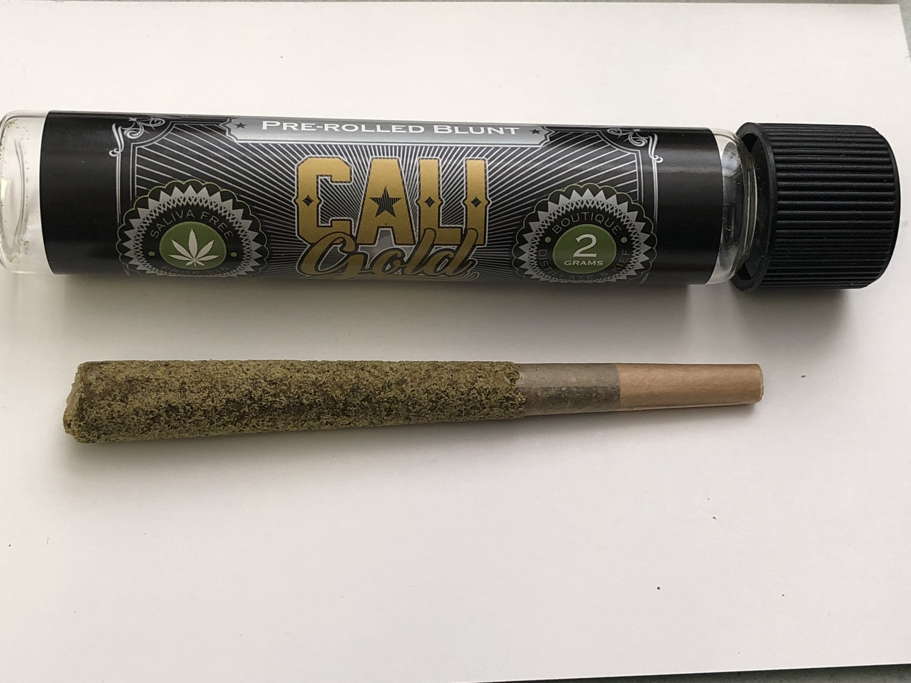 Cali Gold Artisan Party Blunt Moonrock Preroll  Product image